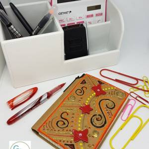 Bohemian inspired notebook -Greetings and Jot