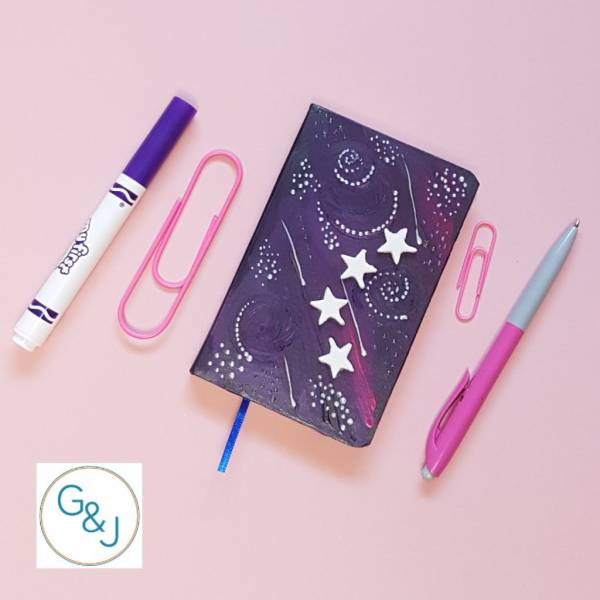 Magical Mystical notebook -Greetings and Jot