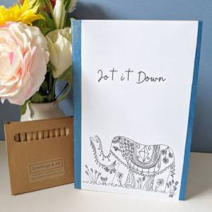 Elephant Jot it Down DIY kit